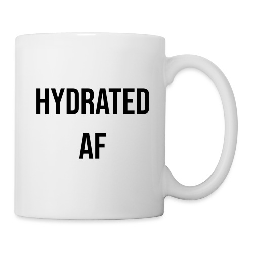 HYDRATED AF BLACK - Coffee/Tea Mug