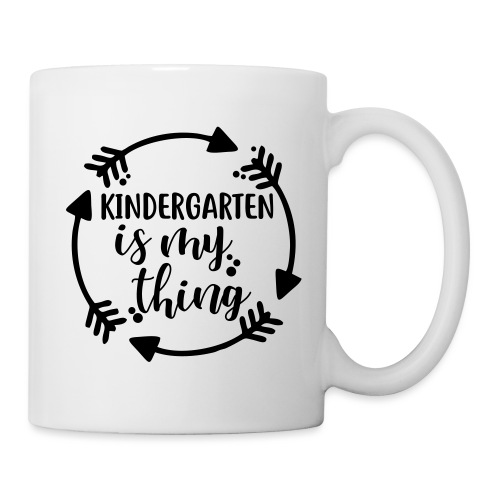 Kindergarten is My Thing Teacher T-Shirts - Coffee/Tea Mug