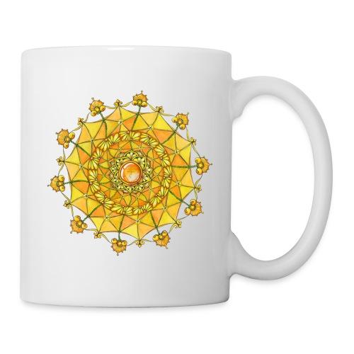 Zentangle Mandala Navel Manipura Chakra - Coffee/Tea Mug