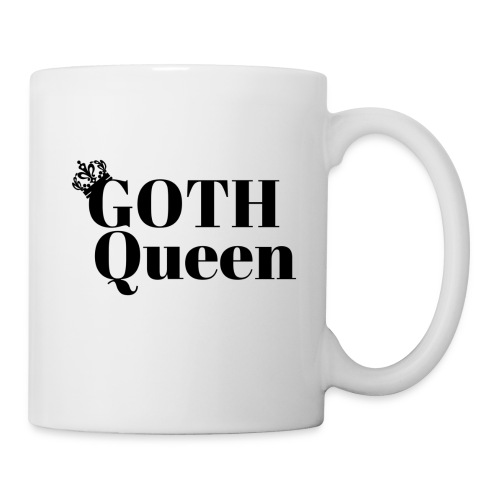 Goth LARGE BLACK - Coffee/Tea Mug