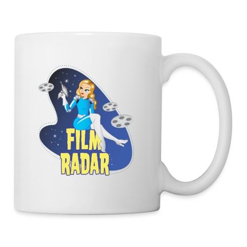 Film Radar space girl logo (blue) - Coffee/Tea Mug