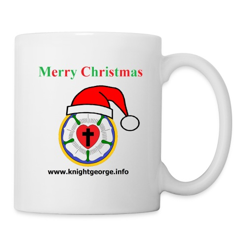 The Order of Knight George - Christmas Luther Rose - Coffee/Tea Mug
