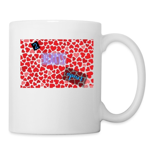 2 hearts apart - Coffee/Tea Mug