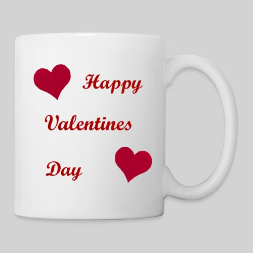 Red Heart Mug - Coffee/Tea Mug