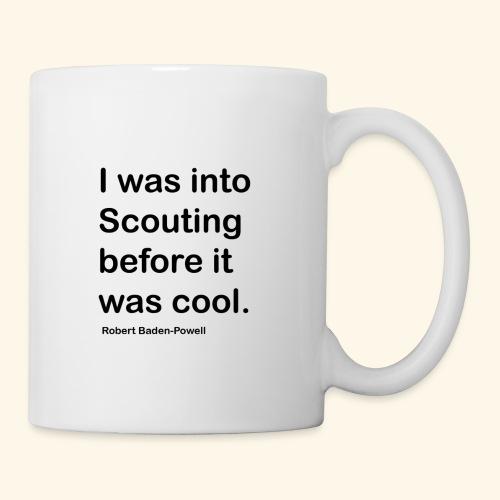 BP Fake cool quote - Coffee/Tea Mug