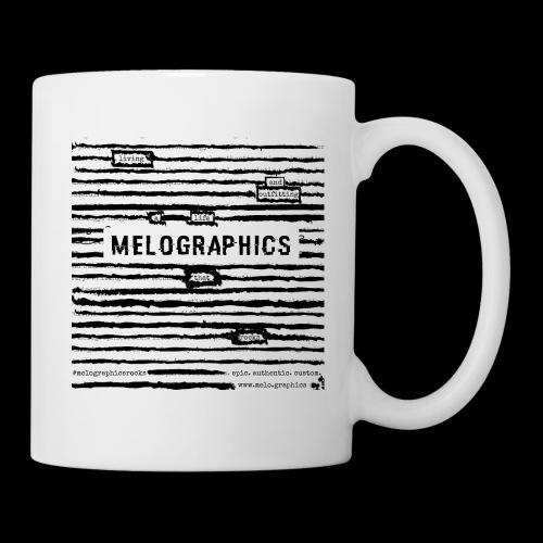 MELOGRAPHICS | Blackout Poem - Coffee/Tea Mug