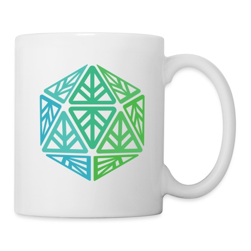 Green Leaf Geek Iconic Logo - Coffee/Tea Mug