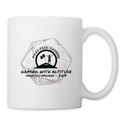 Pikes Peak Gamers Convention 2018 - Accessories - Coffee/Tea Mug