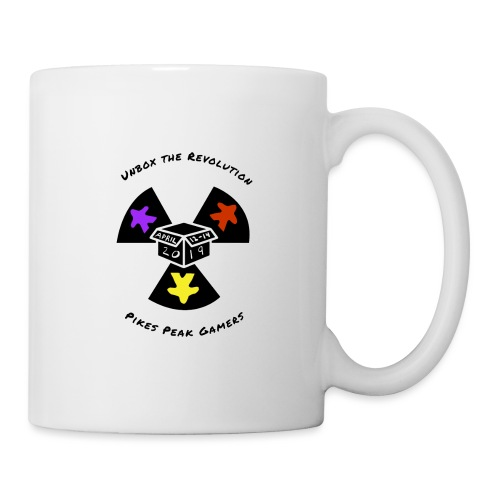 Pikes Peak Gamers Convention 2019 - Accessories - Coffee/Tea Mug