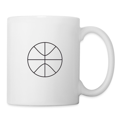 Basketball black and white - Coffee/Tea Mug