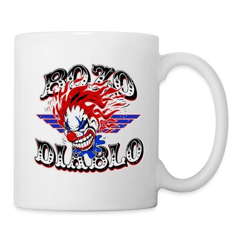 Bozo Diablo Crazy Clown Illustration - Coffee/Tea Mug
