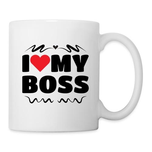 I love my Boss - Coffee/Tea Mug