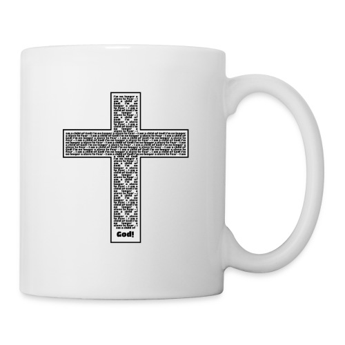 Jesus cross. I'm no longer a slave to fear. - Coffee/Tea Mug