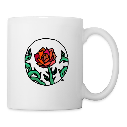 Rose Cameo - Coffee/Tea Mug