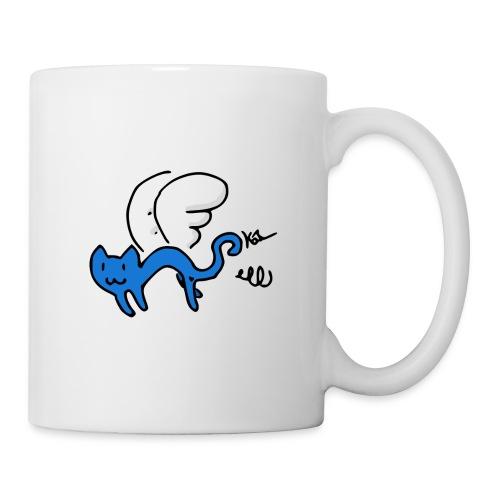 Flying Kitty - Coffee/Tea Mug