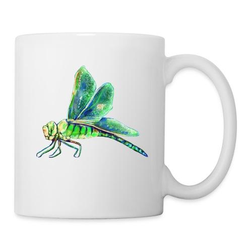 green dragonfly - Coffee/Tea Mug