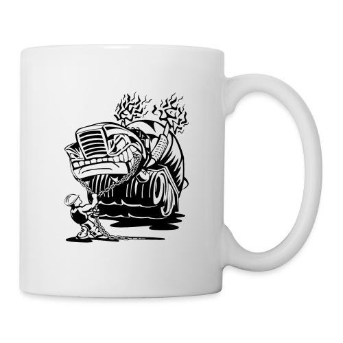 Cement Truck Mixer Cartoon - Coffee/Tea Mug