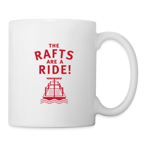 Traveling With The Mouse: Rafts Are A Ride (RED) - Coffee/Tea Mug