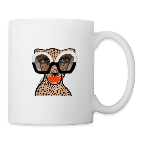 Cheetah In Shades - Coffee/Tea Mug
