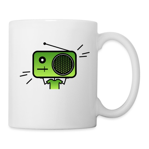 MusiqHead Green Ver 2 - Coffee/Tea Mug