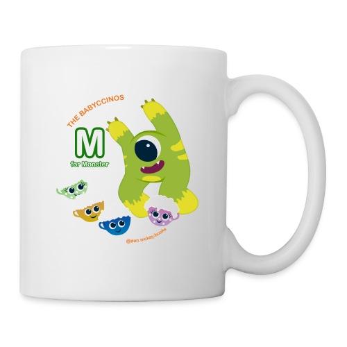 The Babyccinos M for Monster - Coffee/Tea Mug