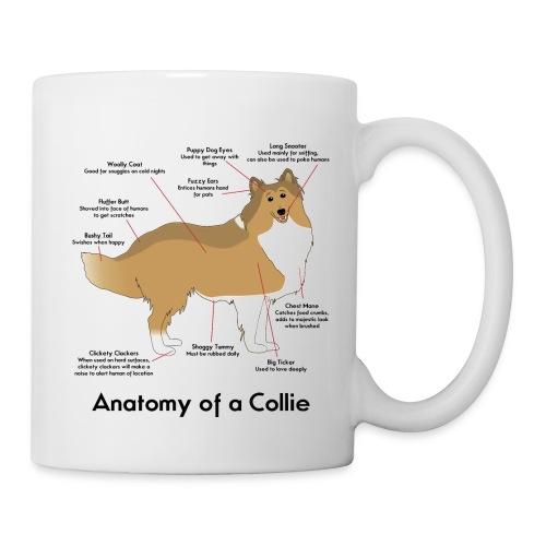 Anatomy of a Collie - Coffee/Tea Mug