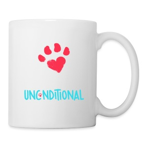 Project Unconditional Love Paw with Logo - Coffee/Tea Mug