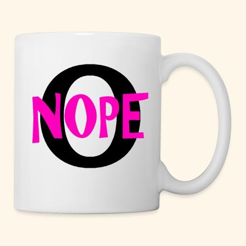 nope to O - Coffee/Tea Mug