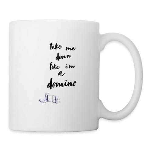 Domino lyrics - Coffee/Tea Mug