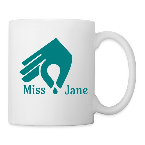 Miss Jane Seed - Teal - Coffee/Tea Mug