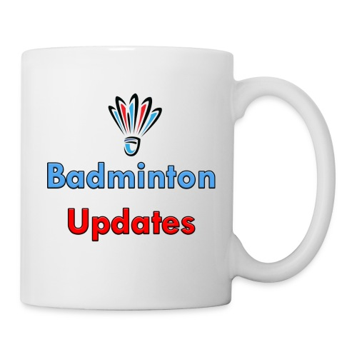 Badminton Updates Logo - Coffee/Tea Mug