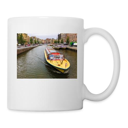 Boats in Amsterdam - Coffee/Tea Mug