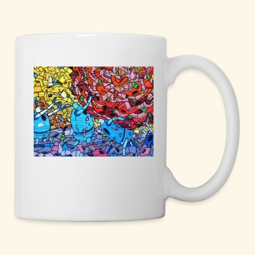 Graffiti Decal - Coffee/Tea Mug