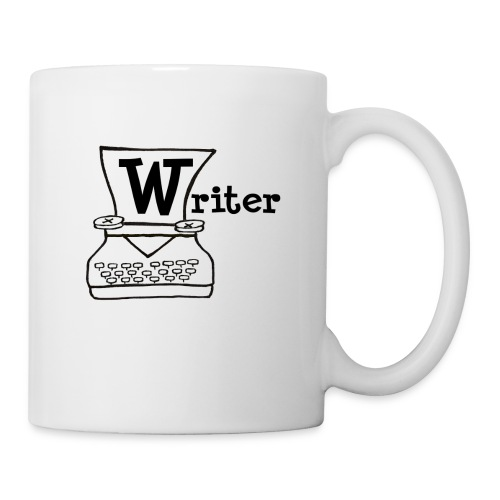 Writer Logo Black - Coffee/Tea Mug