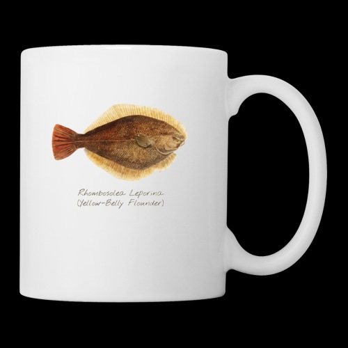 Yellow belly flounder - Coffee/Tea Mug