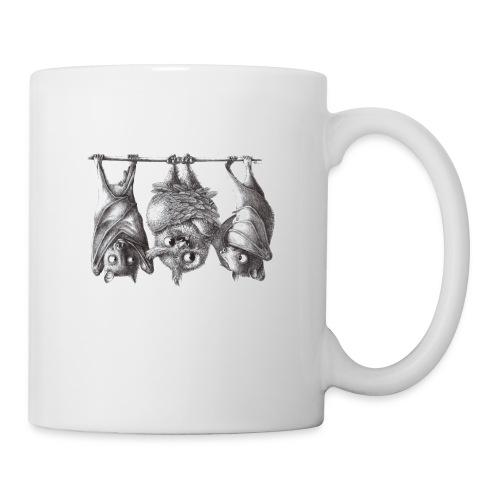 Vampire Owl with Bats - Coffee/Tea Mug