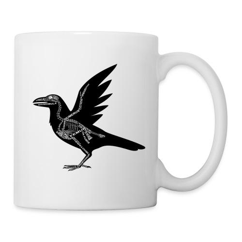 Skeleton Raven - Coffee/Tea Mug