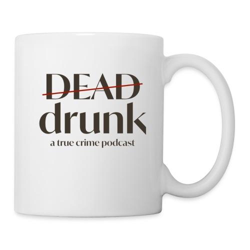 bigger dead drunk logo! - Coffee/Tea Mug
