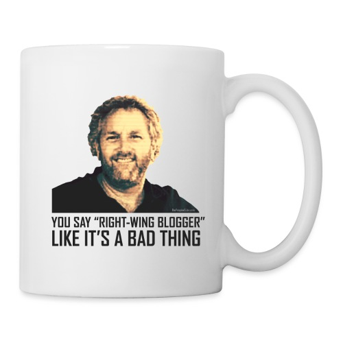 Breitbart: You say right-wing blogger like it's - Coffee/Tea Mug