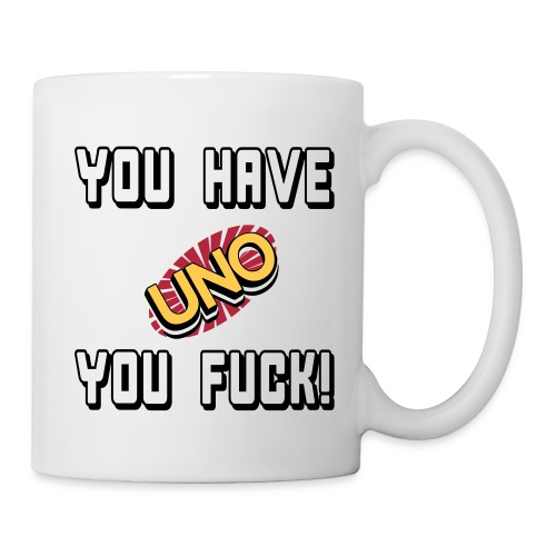 you fuck - Coffee/Tea Mug