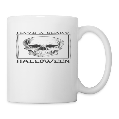 halloween skull - Coffee/Tea Mug