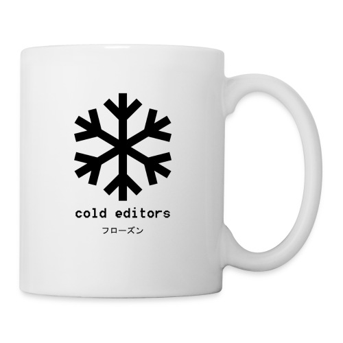 cold editors-frozen - Coffee/Tea Mug