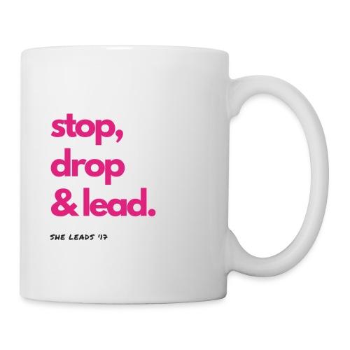 Stop, Drop & Lead - Coffee/Tea Mug