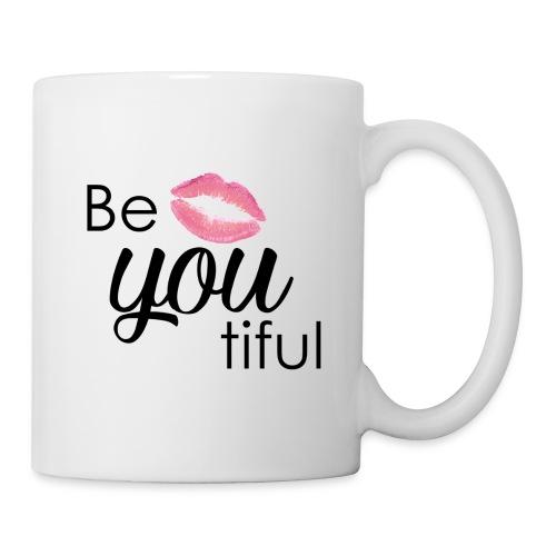 Be-You-Tiful Lip Logo - Coffee/Tea Mug