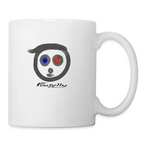 Blue, red FuuSilly - Coffee/Tea Mug