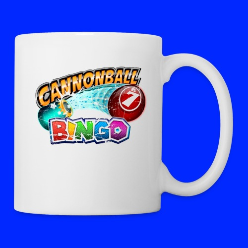 Vintage Cannonball Bingo Logo - Coffee/Tea Mug