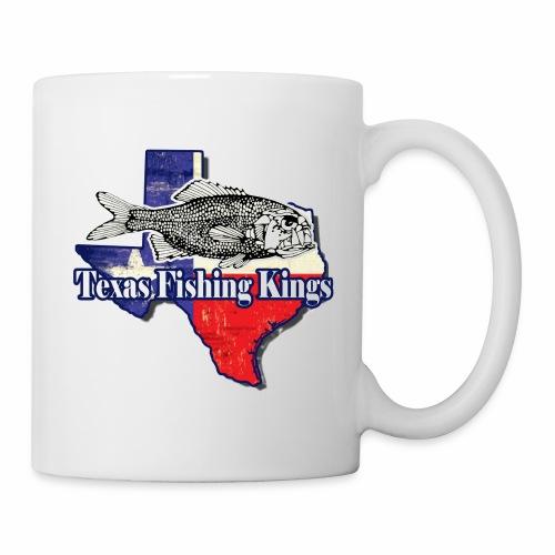 Texas Fishing Kings Logo Shirt - Coffee/Tea Mug