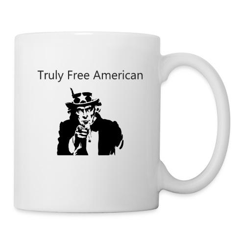 Uncle Sam Truly Free American - Coffee/Tea Mug