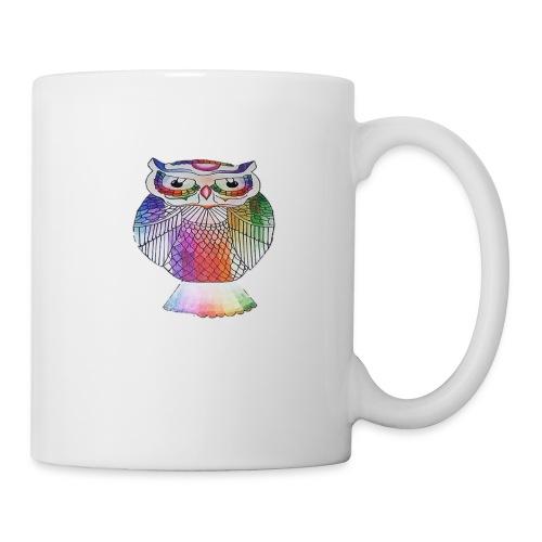 Colorful owl - Coffee/Tea Mug
