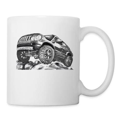4 wheel SUV - Coffee/Tea Mug